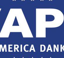 Vape - Make America Dank Again - Blue & White Sticker