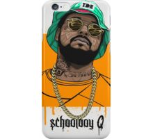 schoolboy q oxymoron iPhone Case/Skin