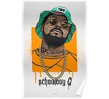 schoolboy q oxymoron Poster