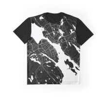 Halifax - Minimalist City Map Graphic T-Shirt