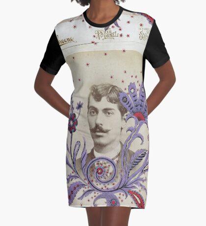 The Enchanted Cravat Graphic T-Shirt Dress