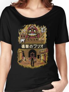 ATTACK ON WARIO Women's Relaxed Fit T-Shirt