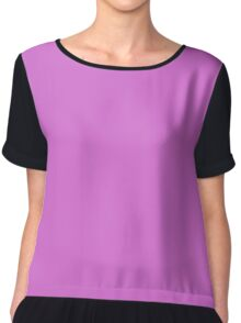 color orchid  Chiffon Top