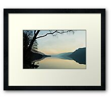 Ullswater Reflections Framed Print