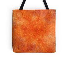 Orange Rust and Dust Tote Bag