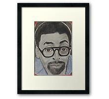 an American film director, producer, writer, and actor Framed Print