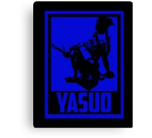 Yauso  League of Legends Canvas Print