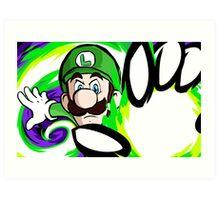 Luigi | Fireball Art Print