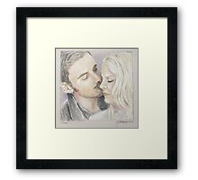 Cheek Framed Print