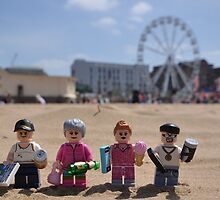 Chavs On The Beach by minifignick