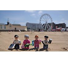 Chavs On The Beach Photographic Print