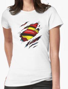 I'm Secretly Superman Womens Fitted T-Shirt