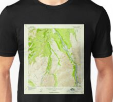 USGS TOPO Map Alaska AK Mount McKinley C-1 357786 1952 63360 Unisex T-Shirt