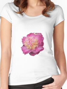 Perfect peony Women's Fitted Scoop T-Shirt