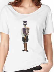 Steampunk Skeleton Women's Relaxed Fit T-Shirt
