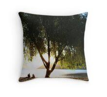 Sacred Tree Throw Pillow