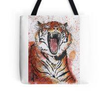 Scribble Ink Tiger Tote Bag