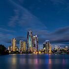 Twilight Gold Coast by Malcolm Katon