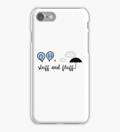 Oh, stuff and fluff- Winnie the Pooh iPhone Case/Skin