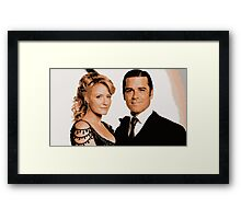 Julia and William Framed Print