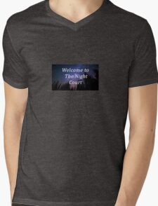 WELCOME TO THE NIGHT COURT - ACOMAF DESIGN Mens V-Neck T-Shirt
