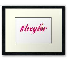 Troyler Framed Print