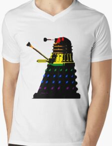 Dalek Pride Mens V-Neck T-Shirt