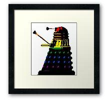 Dalek Pride Framed Print