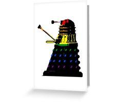 Dalek Pride Greeting Card