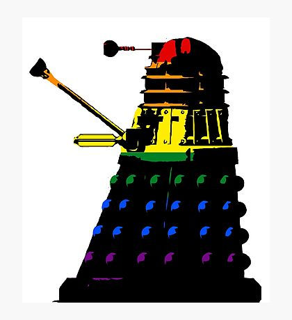 Dalek Pride Photographic Print