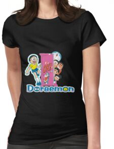 Doraemon Womens Fitted T-Shirt