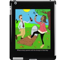 Caillou Death Party iPad Case/Skin