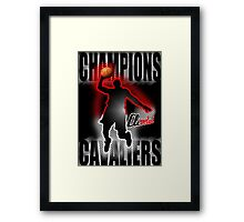 CAVALIERS Framed Print