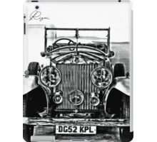 Rolls-Royce (1929)  iPad Case/Skin