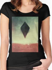 No Man's Sky 2001 Women's Fitted Scoop T-Shirt