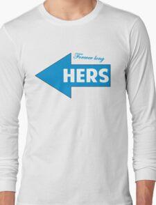 Hers / T-shirt design Long Sleeve T-Shirt