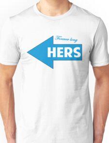 Hers / T-shirt design Unisex T-Shirt