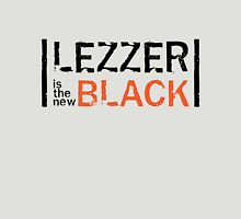 Lezzer is the new Black Womens Fitted T-Shirt