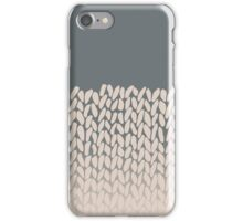 Half Knit Ombre Nat iPhone Case/Skin