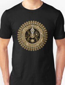 Steampunk Clock Face in Sepia Unisex T-Shirt