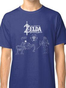 Constellation of Zelda Breath of the Wild Classic T-Shirt