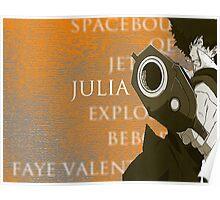 Cowboy Bebop: Julia Poster