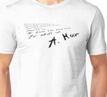 The Honor To Be (Hamilton) Unisex T-Shirt