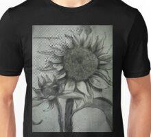 Sunflower Sketch DRPA151009a Unisex T-Shirt