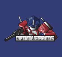 optimus prime by Bunleungart