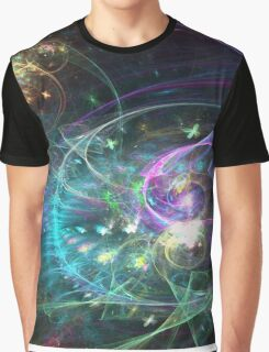 Mystique - Abstract Fractal Artwork Graphic T-Shirt