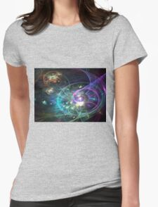 Mystique - Abstract Fractal Artwork Womens Fitted T-Shirt