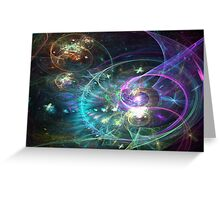 Mystique - Abstract Fractal Artwork Greeting Card