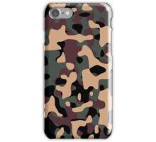 Woodland Camouflage iPhone Case/Skin
