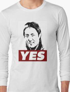 """Yoshi Tatsu """"Yes"""" Long Sleeve T-Shirt"""